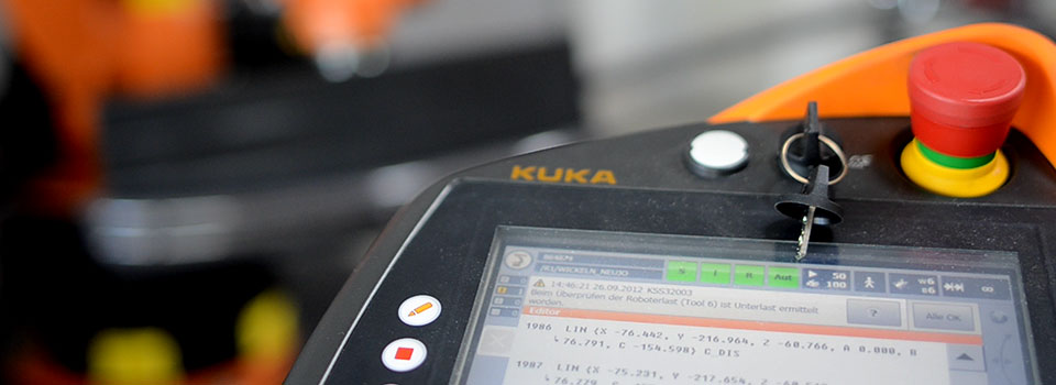KUKA smartPAD Interface